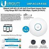 unifi ubiquiti long range - Ubiquiti Networks Unifi Access Point AC Long Range (UAP-AC-LR-5-US) 5-pack, 802.11AC Scalable Enterprise Wi-Fi Technology