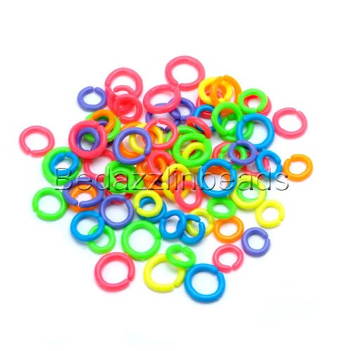 plastic rings for crafts - 3