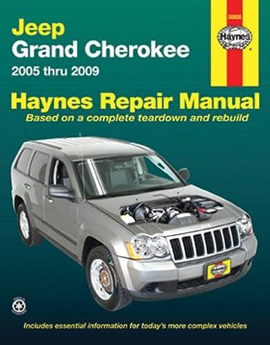 jeep grand cherokee 2005 thru 2009 haynes repair manual editors rh amazon com jeep cherokee service manual 2017 jeep cherokee service manual
