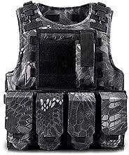 YINKUU Kids Adjustable Multi-Function Tactical Vest Children Outdoor CS Shooting Protection Gear Vest Kid Mili