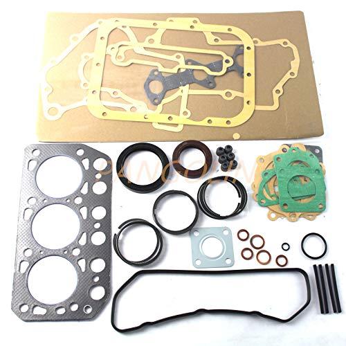 K3D Diesel Engine Gasket Kit for Tractor Mini-Excavator and Loader Mitsubishi Engine Excavator Spare Parts