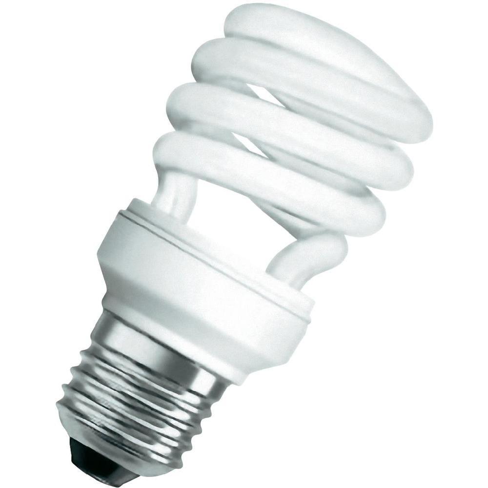Osram Dulux Twist Bombilla Bajo Consumo E14, 12 W, Luz del día-6500K, 10.3 cm
