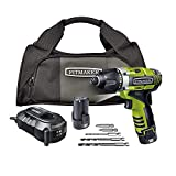 Rockwell RK2515K2 LithiumTech 3RILL 12-Volt 3-in-1 Impact Driver
