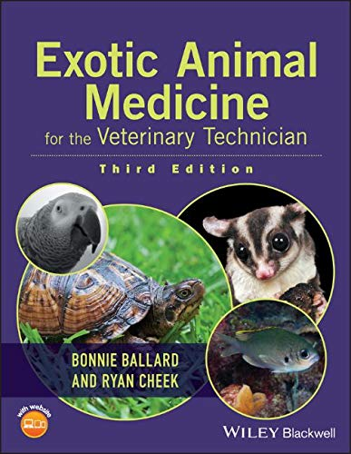 Exotic Animal Medicine for the Veterinary Technician by Wiley-Blackwell