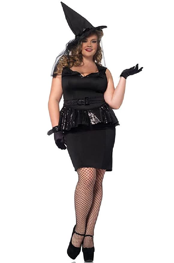 1950s Costumes  Vintage Wicked Witch Dress Up Outfit Plus Size Costume $98.55 AT vintagedancer.com