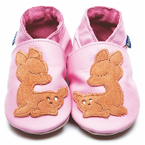 Inch Blue Krabbelschuhe Fawn Baby Pink/Tan, Child Medium
