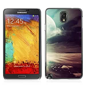Designer Depo Hard Protection Case for Samsung Galaxy Note 3 N9000 / Cool Space Landscape