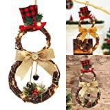XIAXAIXU Christmas Wreath Hanging Decor Xmas