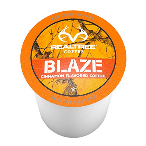 Realtree Blaze Single-Cup Coffee for Keurig K-Cup Brewers...
