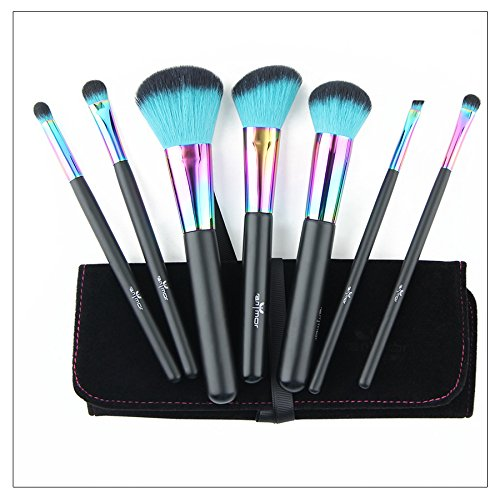 Copper 7 Piece Makeup Brush Set New Colorful Pinceaux Maquil