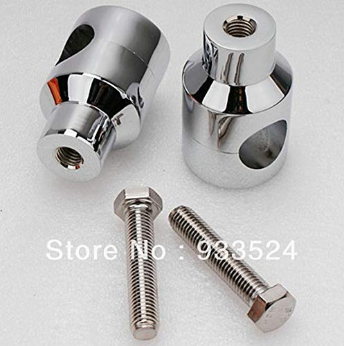 Motorcycle Accessories Parts 1 Pair Shorty Chrome Billet 1