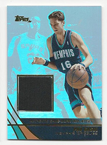 - 2003-04 Topps Jersey Edition Pau Gasol #PG NM Near Mint MEM