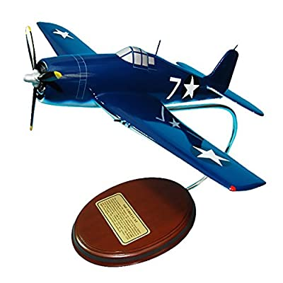Mastercraft Collection F6F-3 Hellcat Cat O Nine Fighter World War II airplane Plane Model Scale:1/41