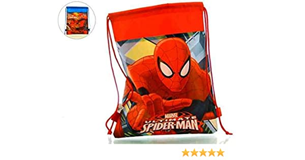 Saquito Spiderman Surt 2 Capacidad 35 x 0,5 x 27 cms