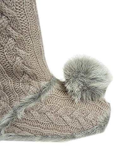 Slippers Ex Knit Pour Chaussons Grey Store Boot Femme 7Af0q
