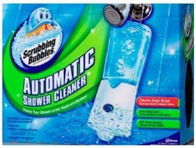 Amazon Com Scrubbing Bubbles Automatic Shower Cleaner 1 Ea Health Personal Care