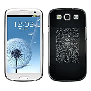 Plastic Shell Protective Case Cover || Samsung Galaxy S3 I9300 || Life Advice Inspiring @XPTECH