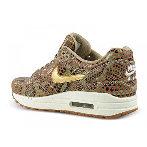 para mujer Nike Material Zapatillas Sintético Max de beige Air w6A0AxPqY