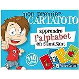 Fundels France Cartes - 410055 - Jeu de Cartes - Cartatoto Alphabet