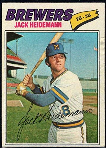 Baseball MLB 1977 Topps #553 Jack Heidemann Brewers