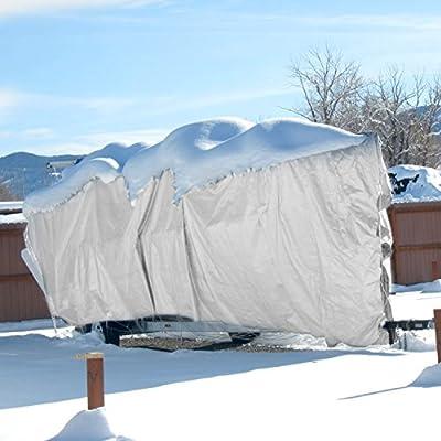 E&K Sunrise 8' x 10' Finished Size General Multi-Purpose Tarpaulin 10-mil Poly Tarp - White : Garden & Outdoor