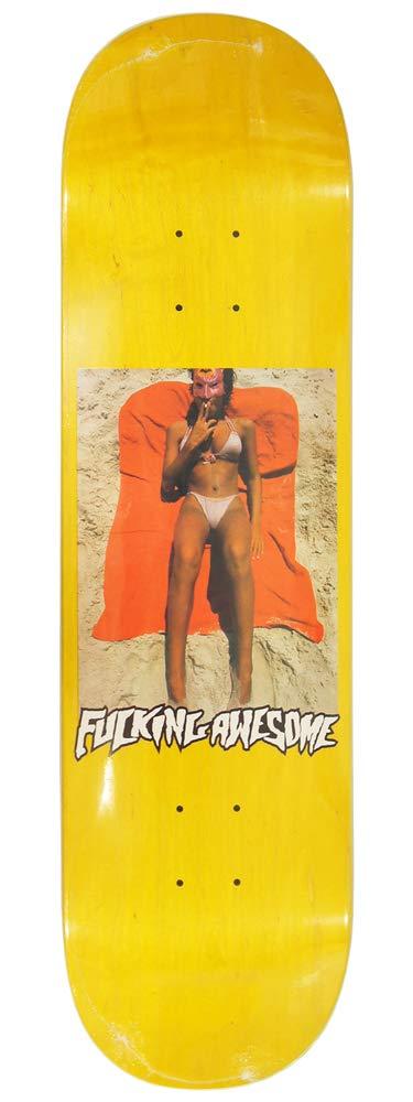 【税込】 FUCKING AWESOME ファッキンオーサム AWESOME スケボー スケートボード デッキ B07NDLDH6G Beach Yellow Yellow 8.38inch Team Model B07NDLDH6G, 日本最大の:459d091c --- a0267596.xsph.ru
