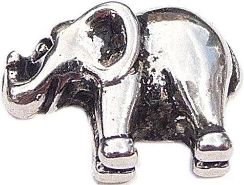 Elephant Floating Locket Charm ()