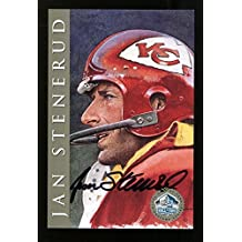 Jan Stenerud Signed Signature Series Card HOF Autographed Chiefs 25468 - NFL Autographed Football Cards
