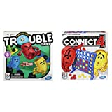 Trouble Game and Connect 4 Game Bundle