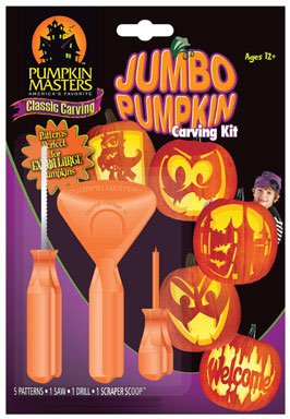 Pumpkin Masters 101551 Pumpkin Carving Kit, Jumbo