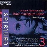 Bach: Cantatas, Vol 3 (BWV 12, 54, 162, 182) /Bach Collegium Japan · Suzuki