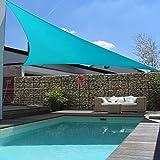 Patio Paradise Turquoise Green 13x13x18 Sun Shade