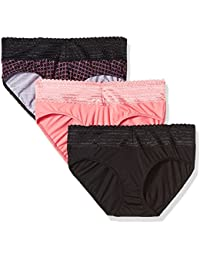 Women's Body Heaven Micro Lace Hipster 3-Pack