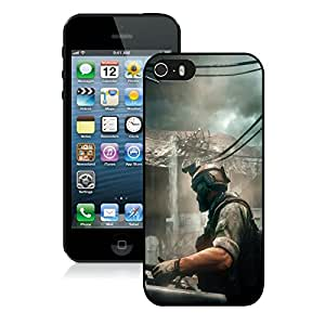 Fashionable and Grace Case Medal Of Honor Warfighter Soldier Building Car Sky Black Case for iphone 5 5s 5th