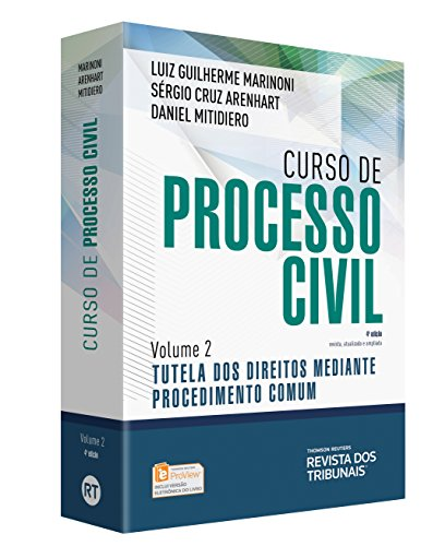 Curso de Processo Civil - Volume 2 Tutela dos Direitos Mediante Procedimento Comum