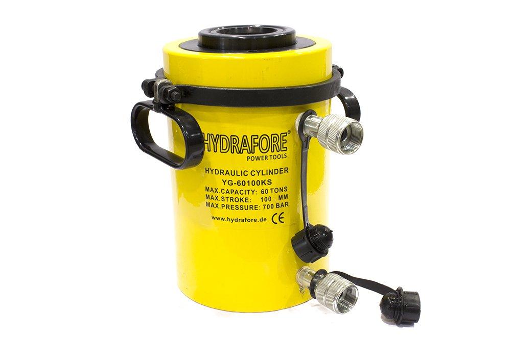 Hydraulic Cylinder simply acting Hub 700 MM Ø 60 mm