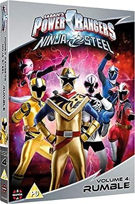 Amazon.com: Power Rangers Ninja Steel: Rumble (Volume 4 ...