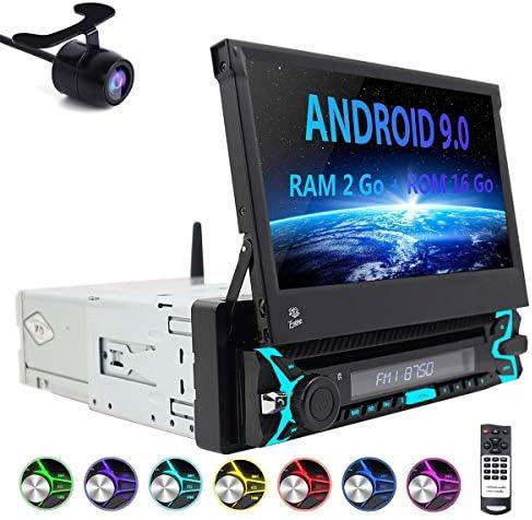 Android 9.0 Auto Estéreo 1 DIN Autoradio con 7 Pulgadas GPS Sat ...