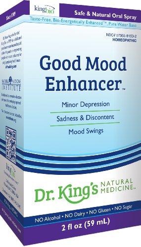 Médecine naturelle bonne humeur Enhancer de Martin Luther King, 2 once liquide