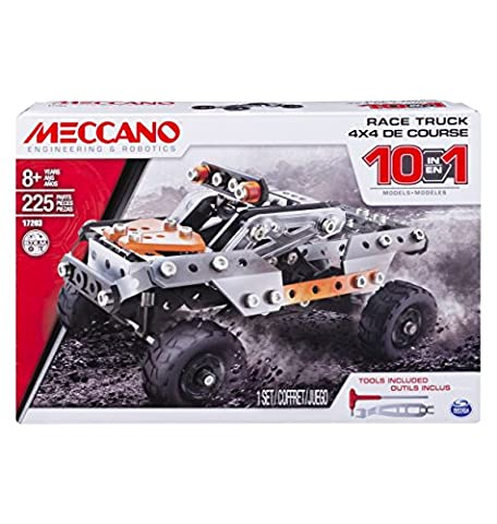 Meccano - 10-in-1 Model - Race (10 Pickup)