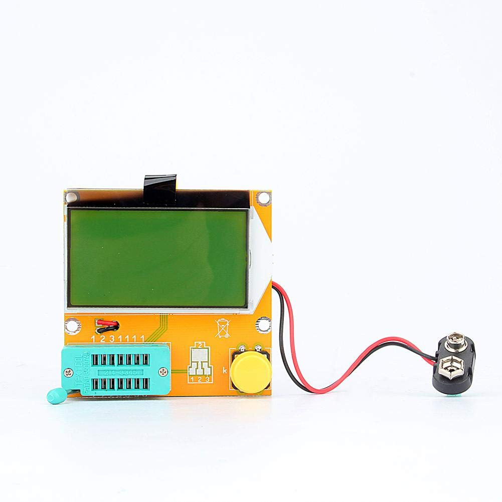 Transistor Tester Diode Triode, LCR-T3 Graphical Mega328 Transistor Tester Diode Triode Capacitance ESR Meter US