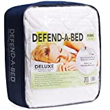 Classic Brands Defend-A-Bed Deluxe Quilted Waterproof Mattress...