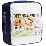 Waterproof Mattress Protector - Classic Brands Defend-A-Bed Deluxe Quilted Waterproof Mattress Protector, Queen
