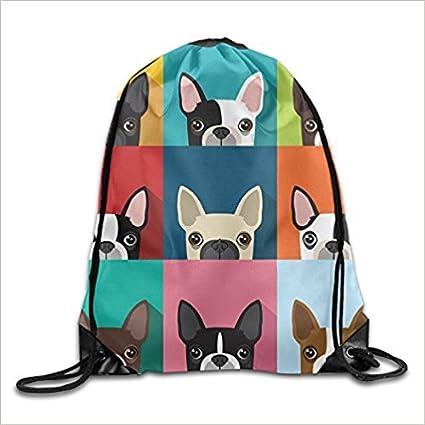 Doormats-shirt Bolsas de ojos para colorear divertidas bolsas de verano mochila con cordón para