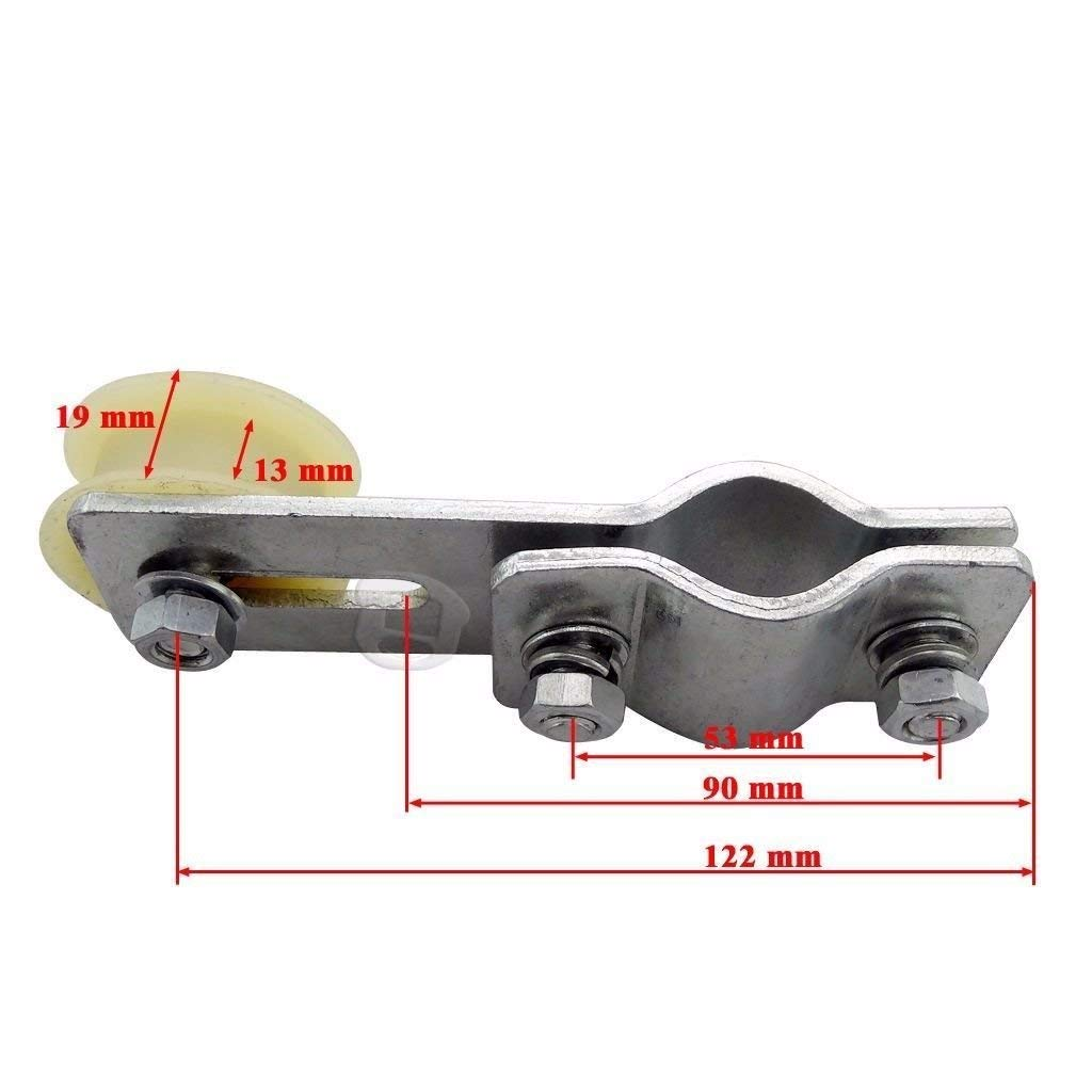 New 415 Chain and Chain Tensioner Roller for 9cc 60cc 66cc 80cc 2-Stroke Engine Motorized Bicycle Bike