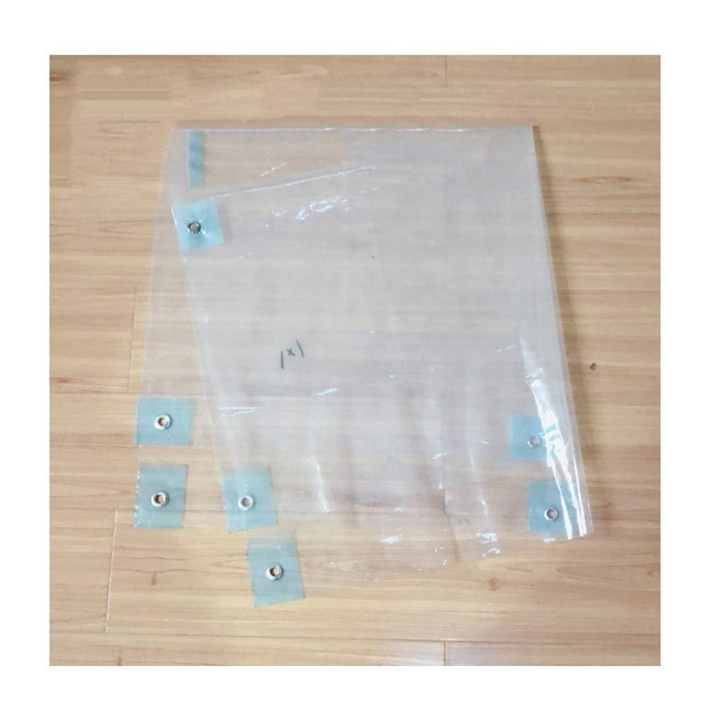 CLEAR 4X5M Fulitanghuang Couverture de bÂche de Sol de bÂche de Prougeection de Trasparent avec la Couverture d'oeillets Antigel d'isolation antipluie, Tailles Multiples