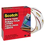 Scotch Book Tape, 50.8mm x 13.7m, 1 Roll (845-48)
