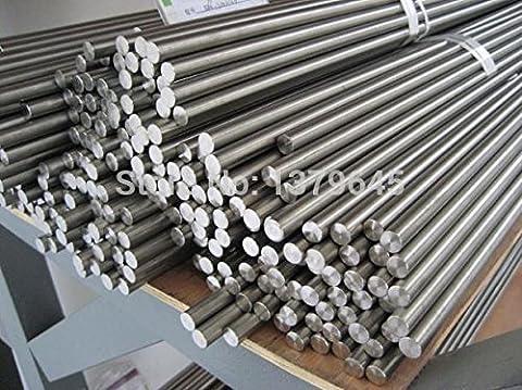 2mm Diameter 50cm Length High-purity Titanium Rod Gr2 Ti Bar Stick Titanium Alloy Rods 2pcs - Ti Alloy