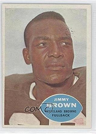 ffcf93c3087 Amazon.com  Jim Brown (Football Card) 1960 Topps -  Base   23  Collectibles    Fine Art