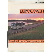 1988 1989 Champion Eurocoach 33 & 35 Motorhome RV Brochure
